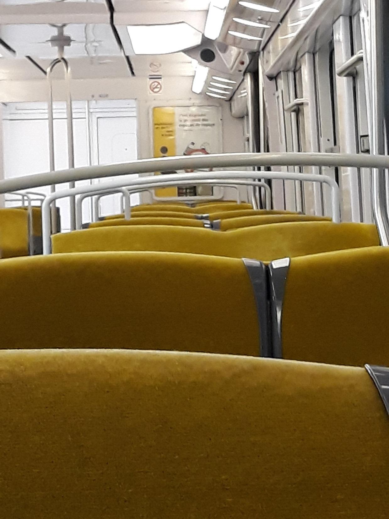 Die Pariser Metro in den neuen Offizine Farben